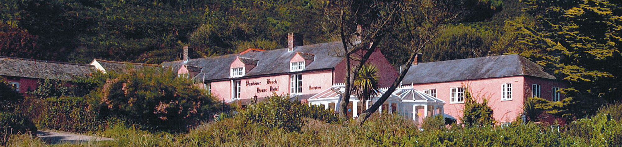pendower beach hotel history - History